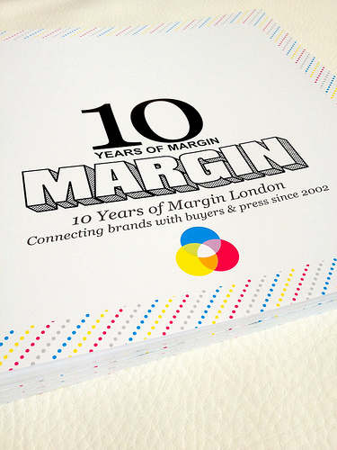 Margin London 10 Year Book