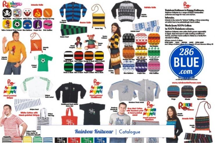 Rainbow Knitwear