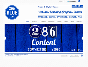 286Blue.com Website