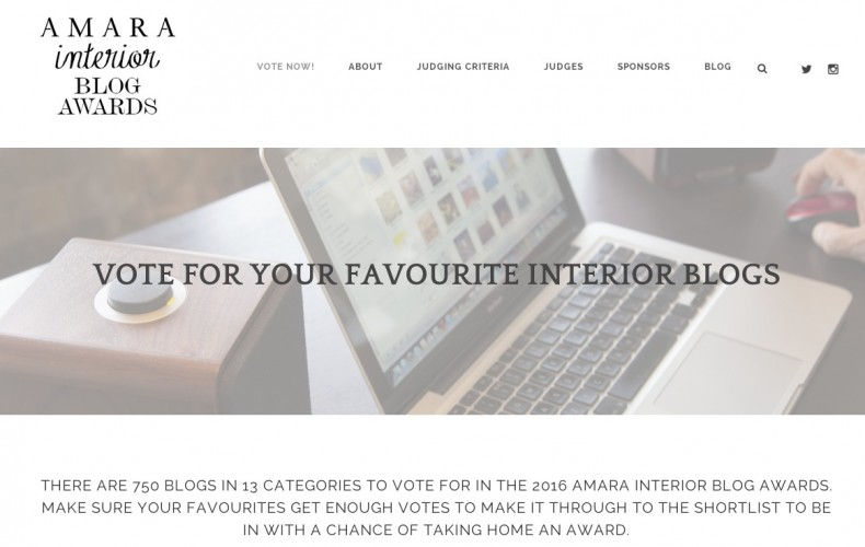 Amara Interior Blog Awards 2016