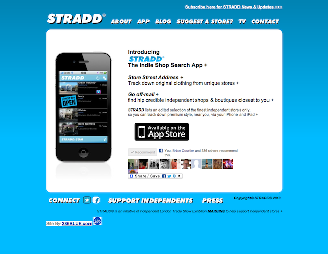 Stradd Website