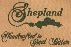 Shepland Woven Label